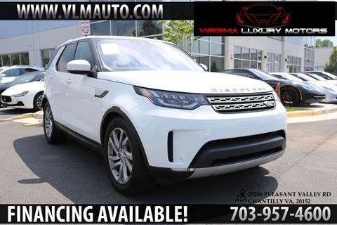 2017 Land Rover Discovery for sale in Chantilly, VA