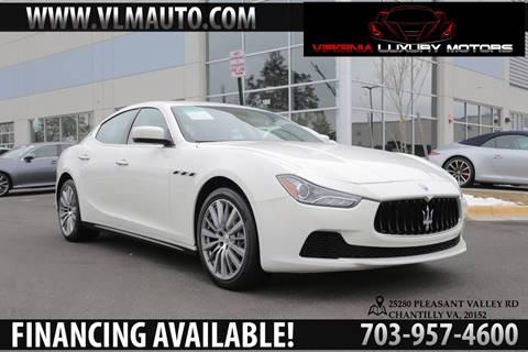 2015 Maserati Ghibli for sale in Chantilly, VA