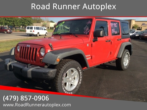 2011 Jeep Wrangler Unlimited for sale in Russellville, AR
