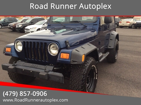 2002 Jeep Wrangler for sale in Russellville, AR