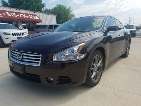 2013 Nissan Maxima for sale in Byron IL