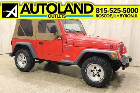 1998 Jeep Wrangler for sale in Byron, IL