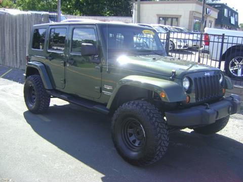 2008 Jeep Wrangler Unlimited for sale in West Babylon, NY