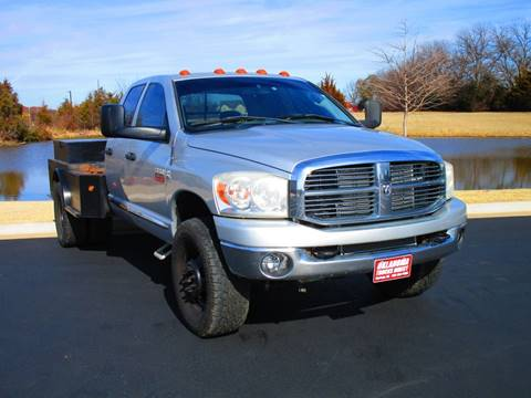 2009 Dodge Ram Pickup 3500 for sale at Oklahoma Trucks Direct in Norman OK