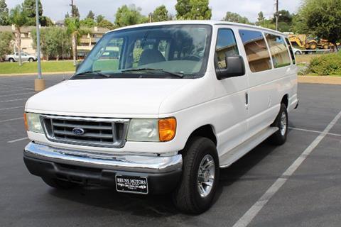 2004 Ford E-Series Wagon for sale in Orange, CA