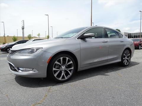 2015 Chrysler 200 for sale in Columbus GA