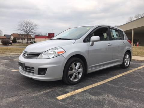 2010 Nissan Versa for sale at Peak Motors in Loves Park IL