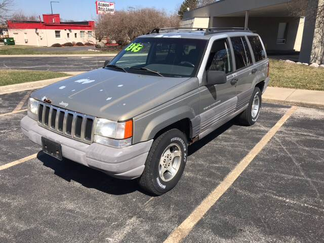 1996 Jeep Grand Cherokee For Sale At Peak Motors In Loves Park IL