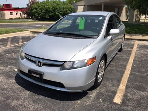 2008 Honda Civic for sale at Peak Motors in Loves Park IL