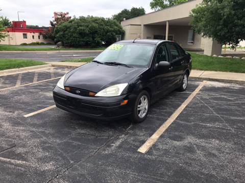 2002 Ford Focus for sale at Peak Motors in Loves Park IL