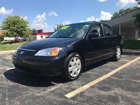 2002 Honda Civic for sale at Peak Motors in Loves Park IL