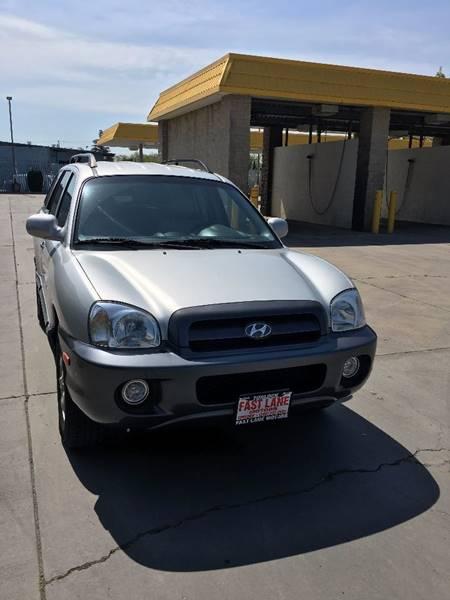 2005 Hyundai Santa Fe for sale at Fast Lane Motors in Turlock CA