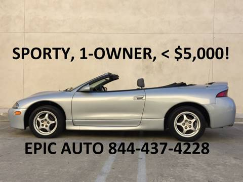 1998 Mitsubishi Eclipse Spyder for sale in Irwindale, CA