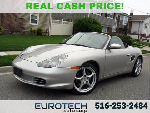2003 Porsche Boxster for sale at EUROTECH AUTO CORP in Island Park NY