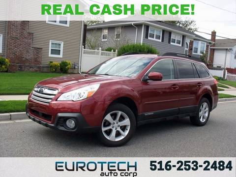 2013 Subaru Outback for sale at EUROTECH AUTO CORP in Island Park NY