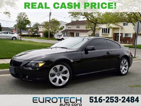 2007 BMW 6 Series for sale at EUROTECH AUTO CORP in Island Park NY