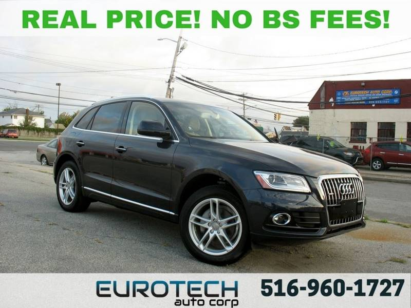 2016 Audi Q5 for sale at EUROTECH AUTO CORP in Island Park NY