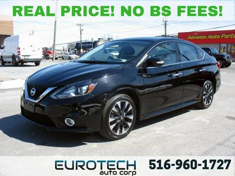 2017 Nissan Sentra for sale at EUROTECH AUTO CORP in Island Park NY