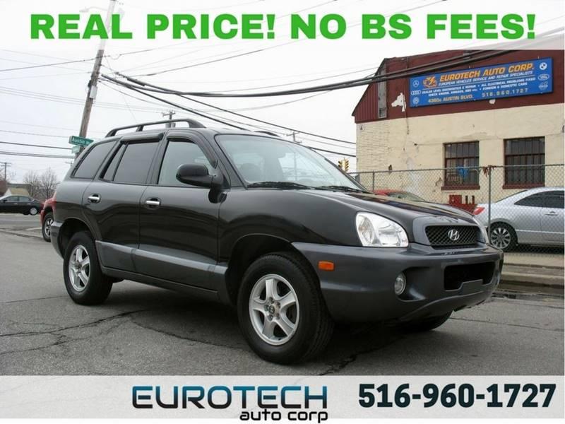 2004 Hyundai Santa Fe For Sale At EUROTECH AUTO CORP In Island Park NY