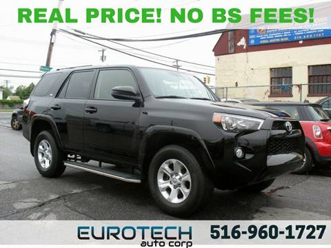 2014 Toyota 4Runner for sale at EUROTECH AUTO CORP in Island Park NY