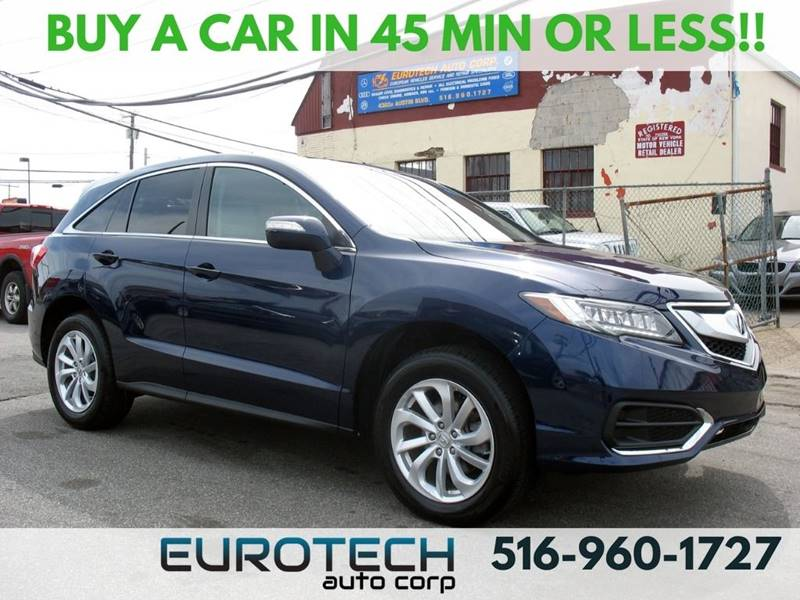2017 Acura RDX for sale at EUROTECH AUTO CORP in Island Park NY