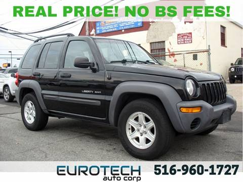 2003 Jeep Liberty for sale in Island Park, NY
