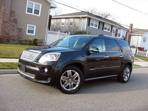 2011 GMC Acadia for sale at EUROTECH AUTO CORP in Island Park NY