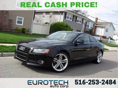 2009 Audi A5 for sale at EUROTECH AUTO CORP in Island Park NY