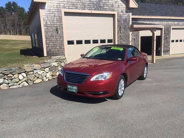 2012 Chrysler 200 Convertible Touring 2dr Convertible - Belfast ME