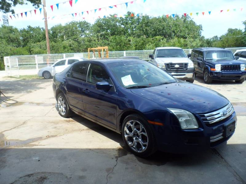 2006 Ford Fusion V6 Se In Fort Worth Tx B Ann S Used Cars