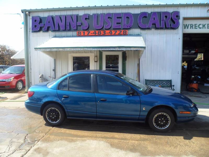 2002 Saturn S Series Sl1 In Fort Worth Tx B Ann S Used Cars