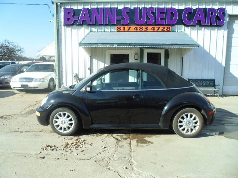 2005 Volkswagen New Beetle Gls In Fort Worth Tx B Ann S Used Cars