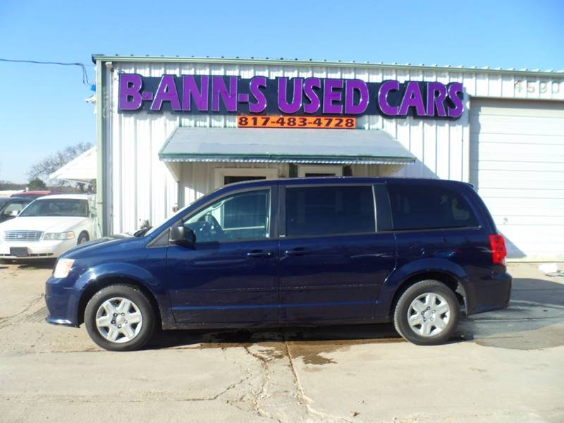 2012 Dodge Grand Caravan Se In Fort Worth Tx B Ann S Used Cars