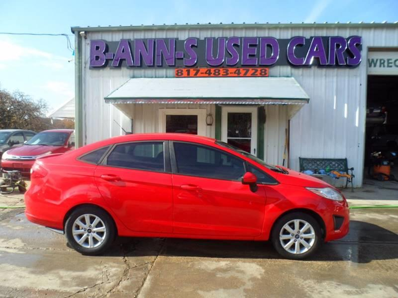 2012 Ford Fiesta SE In Fort Worth TX - B-Ann-S Used Cars