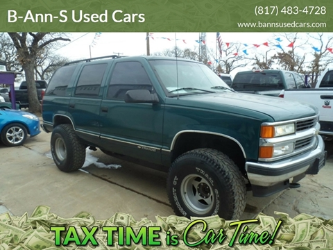 1998 Chevrolet Tahoe For Sale Carsforsale Com