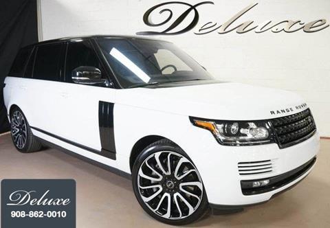 2016 Land Rover Range Rover for sale in Linden, NJ