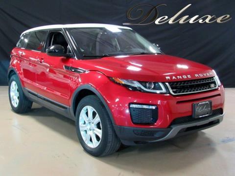 2016 Land Rover Range Rover Evoque for sale in Linden, NJ