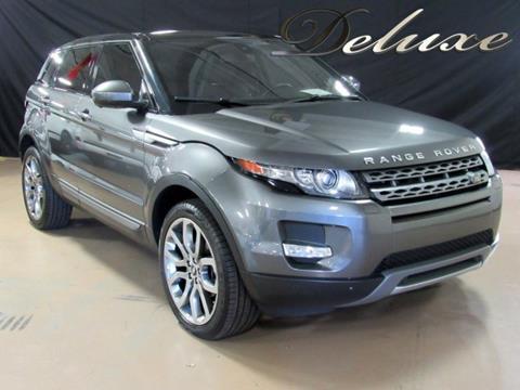 2015 Land Rover Range Rover Evoque for sale in Linden, NJ
