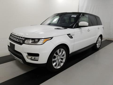2016 Land Rover Range Rover Sport for sale in Linden, NJ
