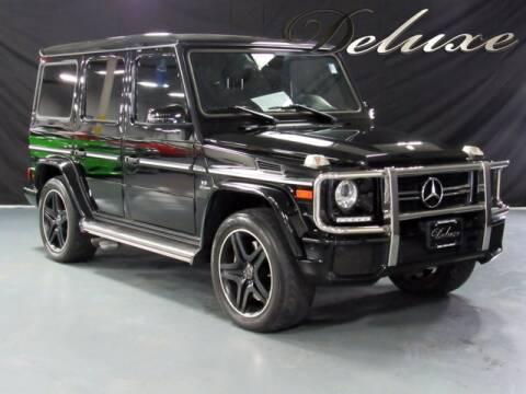 2017 Mercedes-Benz G-Class for sale at DeluxeNJ.com in Linden NJ