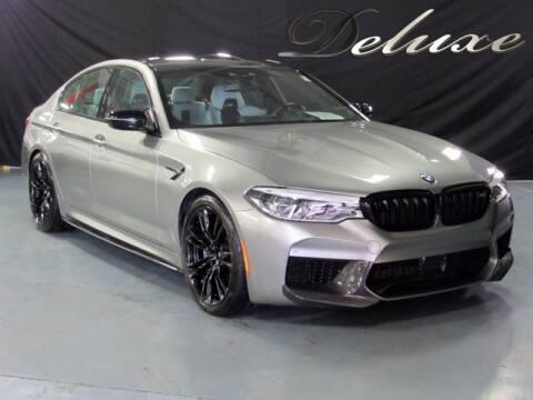 2019 BMW M5 for sale at DeluxeNJ.com in Linden NJ