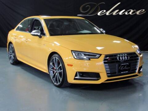 2018 Audi S4 for sale at DeluxeNJ.com in Linden NJ