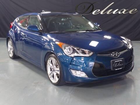 2017 Hyundai Veloster for sale at DeluxeNJ.com in Linden NJ