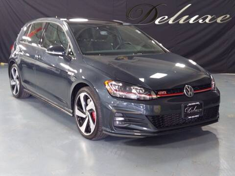 2019 Volkswagen Golf GTI for sale at DeluxeNJ.com in Linden NJ