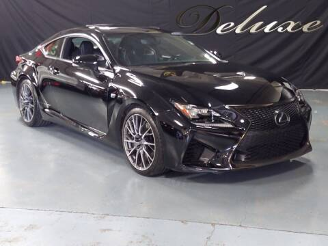 2016 Lexus RC F for sale at DeluxeNJ.com in Linden NJ