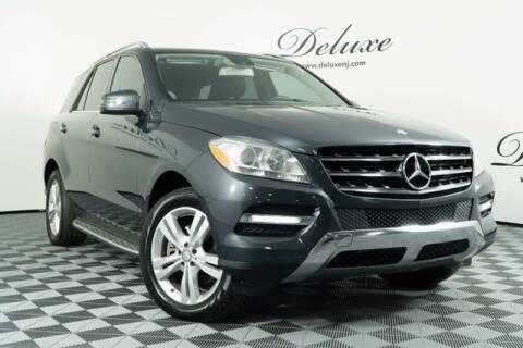 2014 Mercedes-Benz M-Class for sale at DeluxeNJ.com in Linden NJ