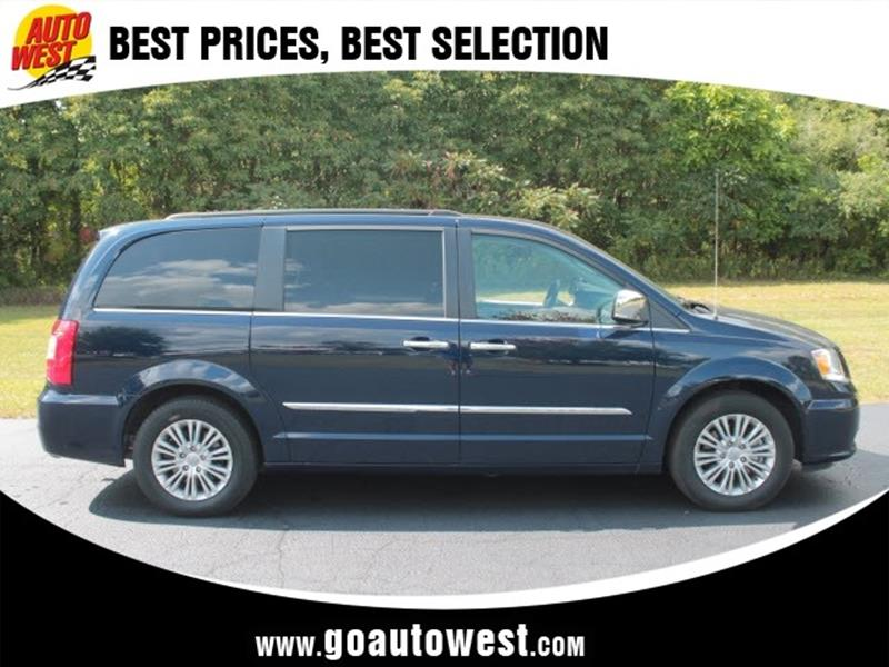 2015 Chrysler Town And Country TouringL 4dr MiniVan In Allegan