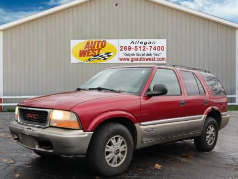 1998 GMC Jimmy for sale in Allegan, MI