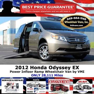 2012 Honda Odyssey for sale in Laguna Hills, CA