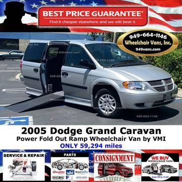 2005 Dodge Grand Caravan for sale at Wheelchair Vans Inc - New and Used in Laguna Hills CA